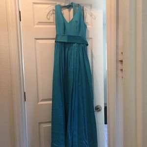 Vera  Wang satin gown